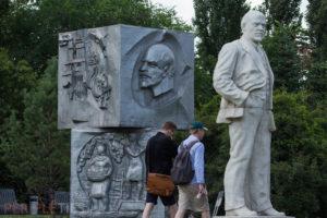 parc statues lénine moscou
