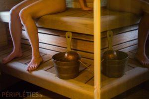 sauna traditionnel nu finlande
