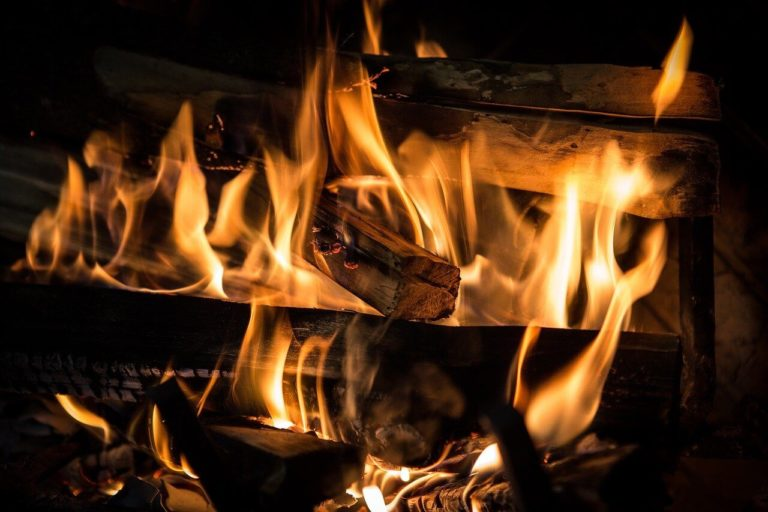 flammes feu