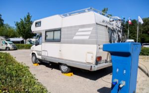 aire de services electricite camping car