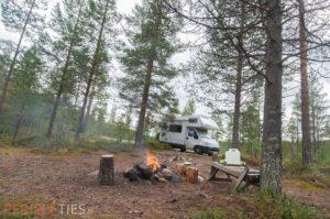 Bivouac Finlande camping car