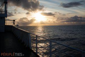 Ferry Norvège - Danemark - Tour d'Europe Péripléties
