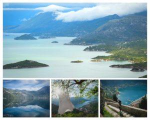 Monténégro en Camping-car Lac Skadar Baie de Kotor Tour d'Europe Péripléties