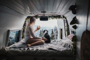 femme van life instagram