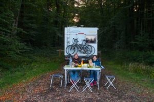 camping car foret belleme perche