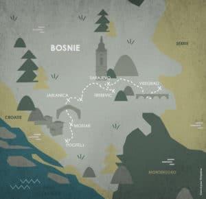 itinéraire Bosnie-Herzégovine