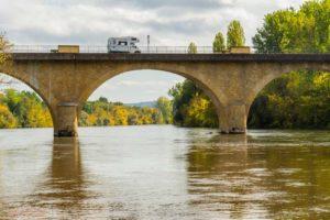 pont dordogne camping car